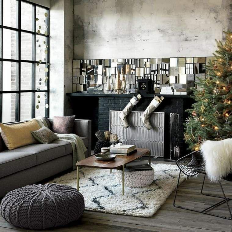 Industrial Style Wohnzimmer Ideen Fur Mobel Und Dekoration Halle