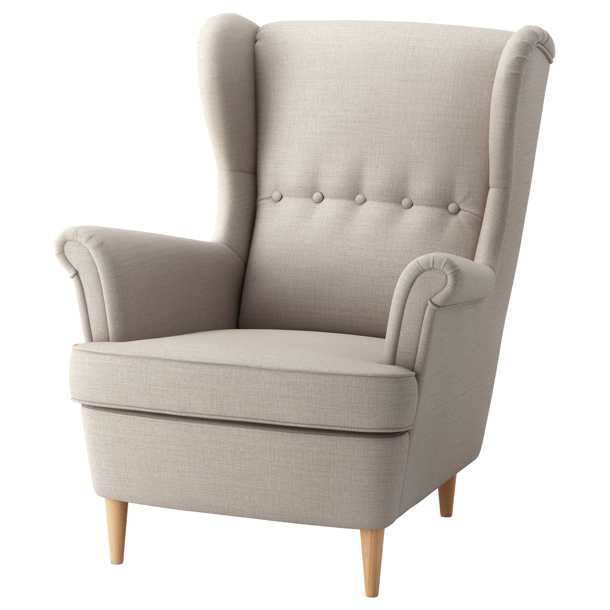 Strandmon Skiftebo Light Beige Wing Chair Ikea Ikea Armchair Wing Chair Ikea Strandmon
