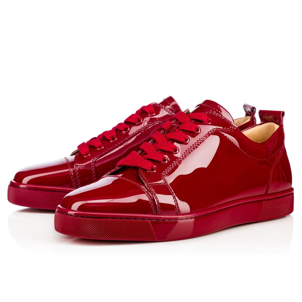 079b44adba73 CHRISTIAN LOUBOUTIN Louis Junior Men S Flat Carmin Patent Leather - Men  Shoes - Christian Louboutin.  christianlouboutin  shoes