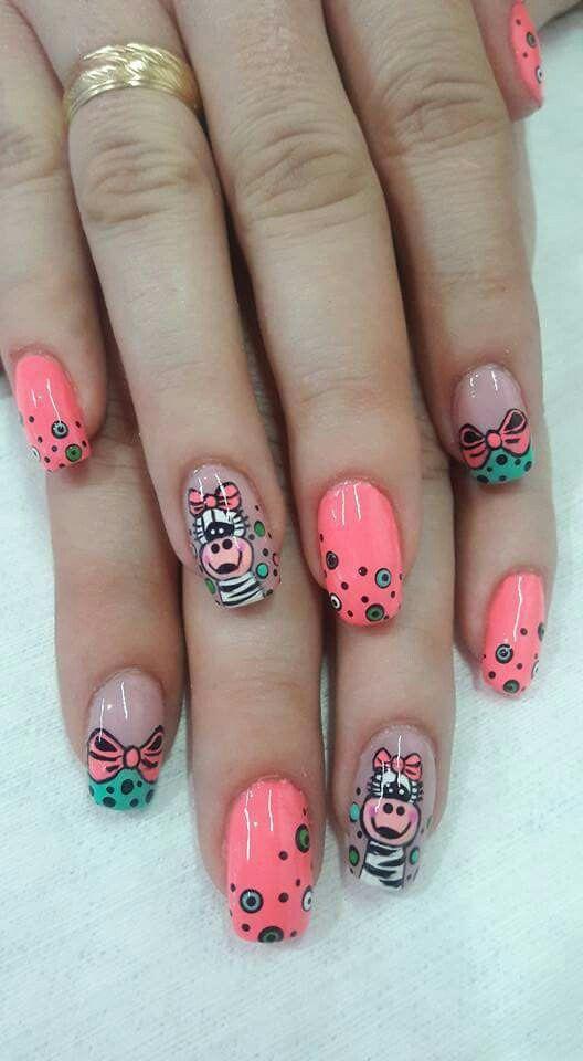 Decoración de uñas | El Mundo espectacular de las Uñas | Pinterest ...