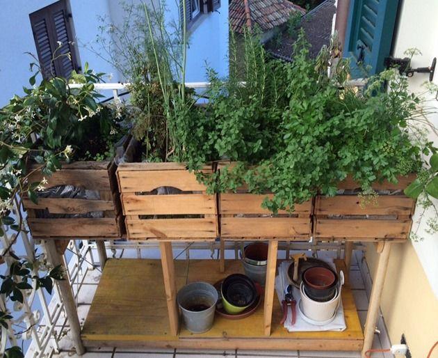 Balkon Urban Gardening | Balcony | Balkon | Pinterest | Urban ...