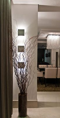 Tall Vase With Tall Branches For Corner Idea For My Bathroom And