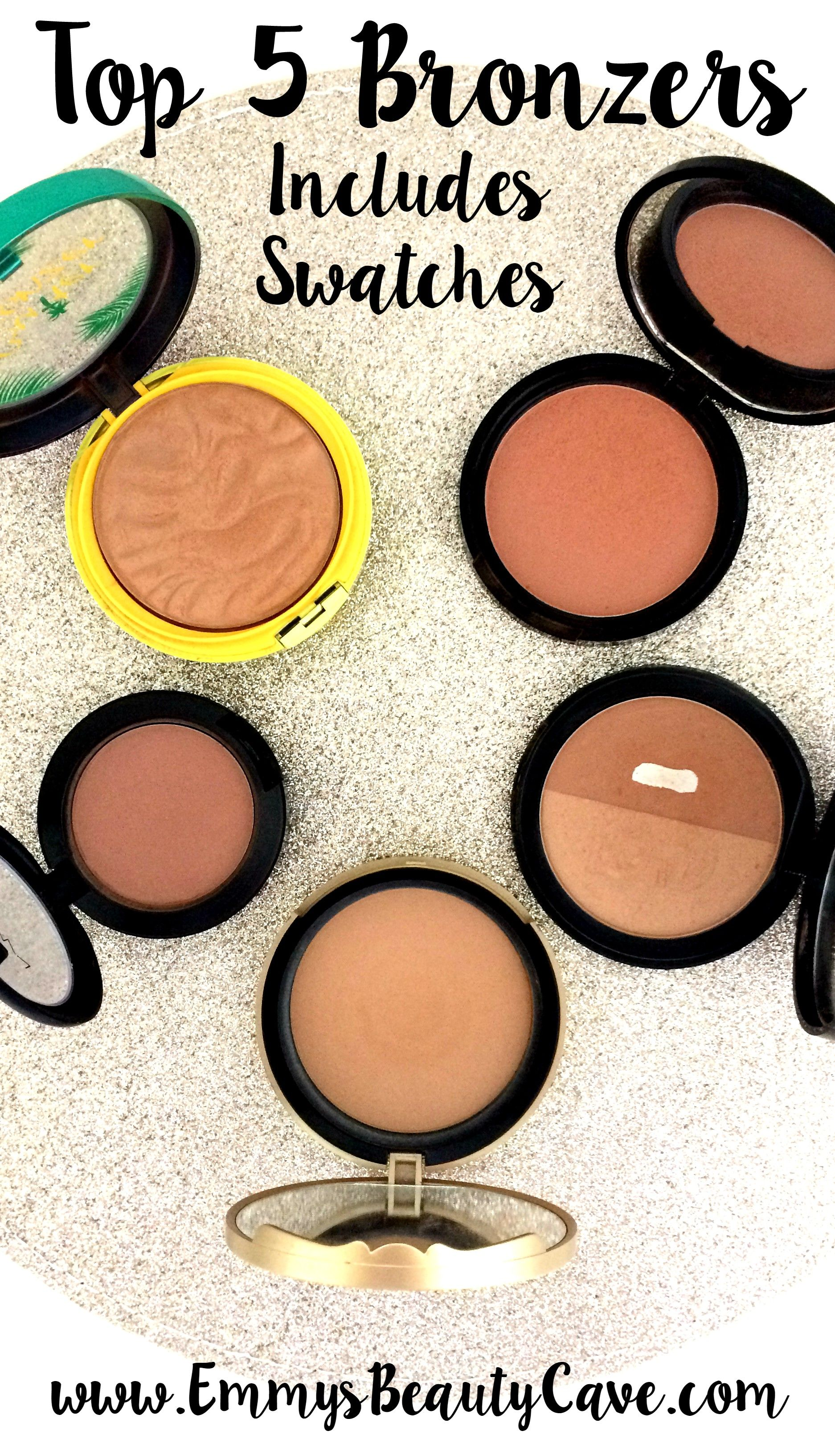 The best bronzers for pale skin tones blog post includes swatches swatch nvjuhfo Images