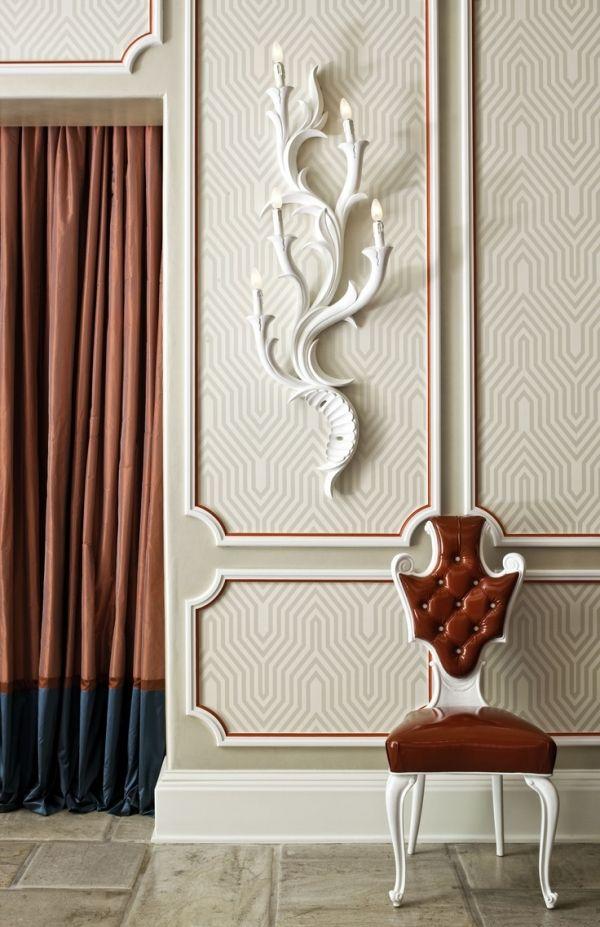 Tür Vorhang-luxus Möbel Stuhl Polster Stoffe-Wanddekoration ideen ...