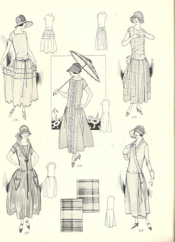 Kleid 20er stil nahen