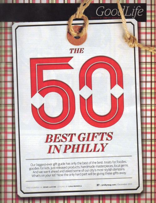philadelphia magazine - 50 best gifts in philly - hand in ...
