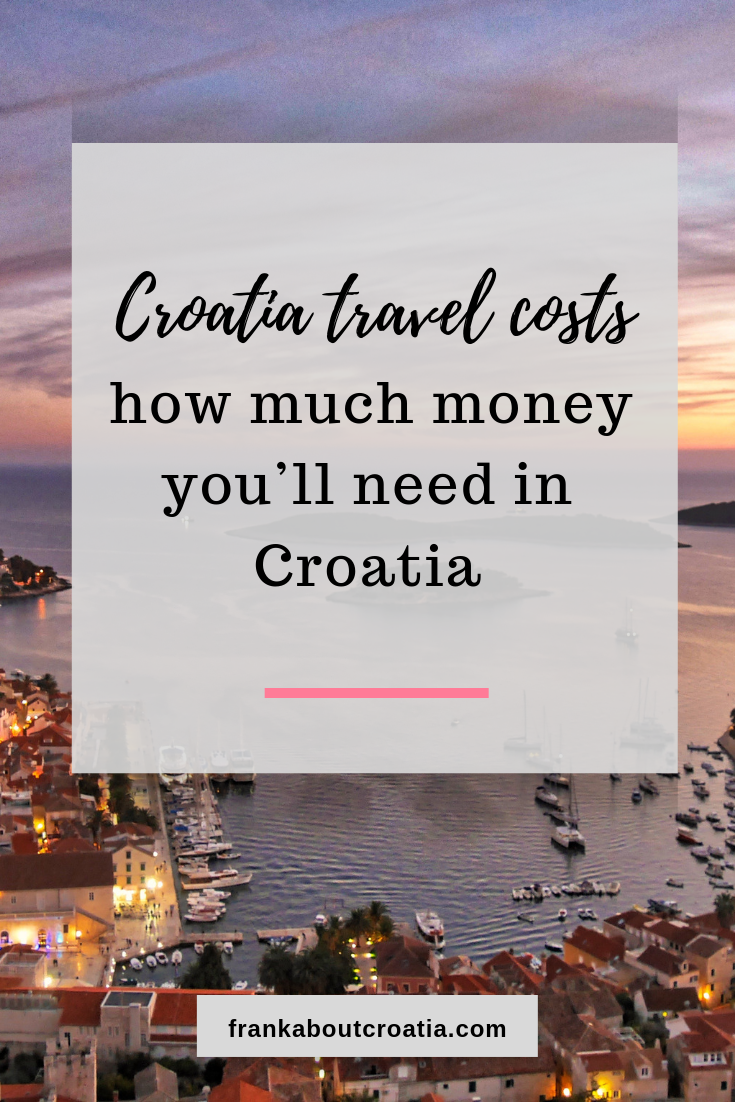 This Post Is About Information On Croatia Travel Costs The Highest Travel Demand The Biggest Crowds And The H Croatia Travel Croatia Croatia Travel Guide