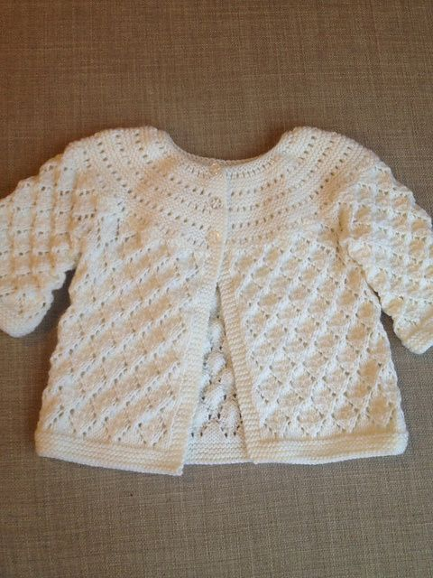 Coprifasce La Maglia Di Marica Crochet Baby Sweater Patterns