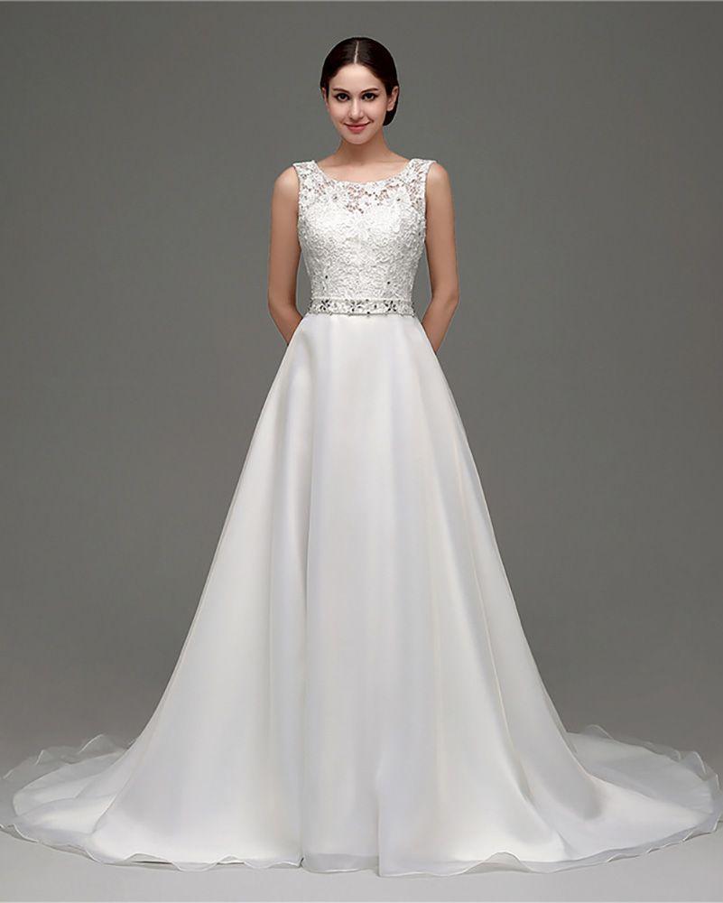 Beaded Cheap Organza Beach Wedding Dresses China Ball Gown: Only $108.99, Beach Wedding Dresses Cheap Gorgeous