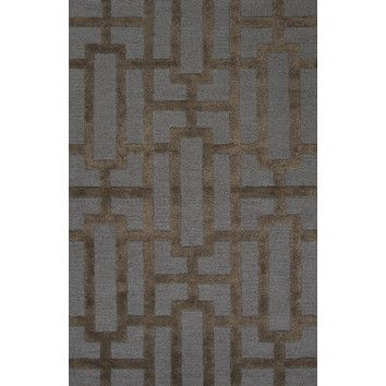 FREE SHIPPING! Shop Wayfair for Jaipur Rugs City Blue / Brown Geometric Area Rug - Great Deals on all Decor products with the best selection to choose from!