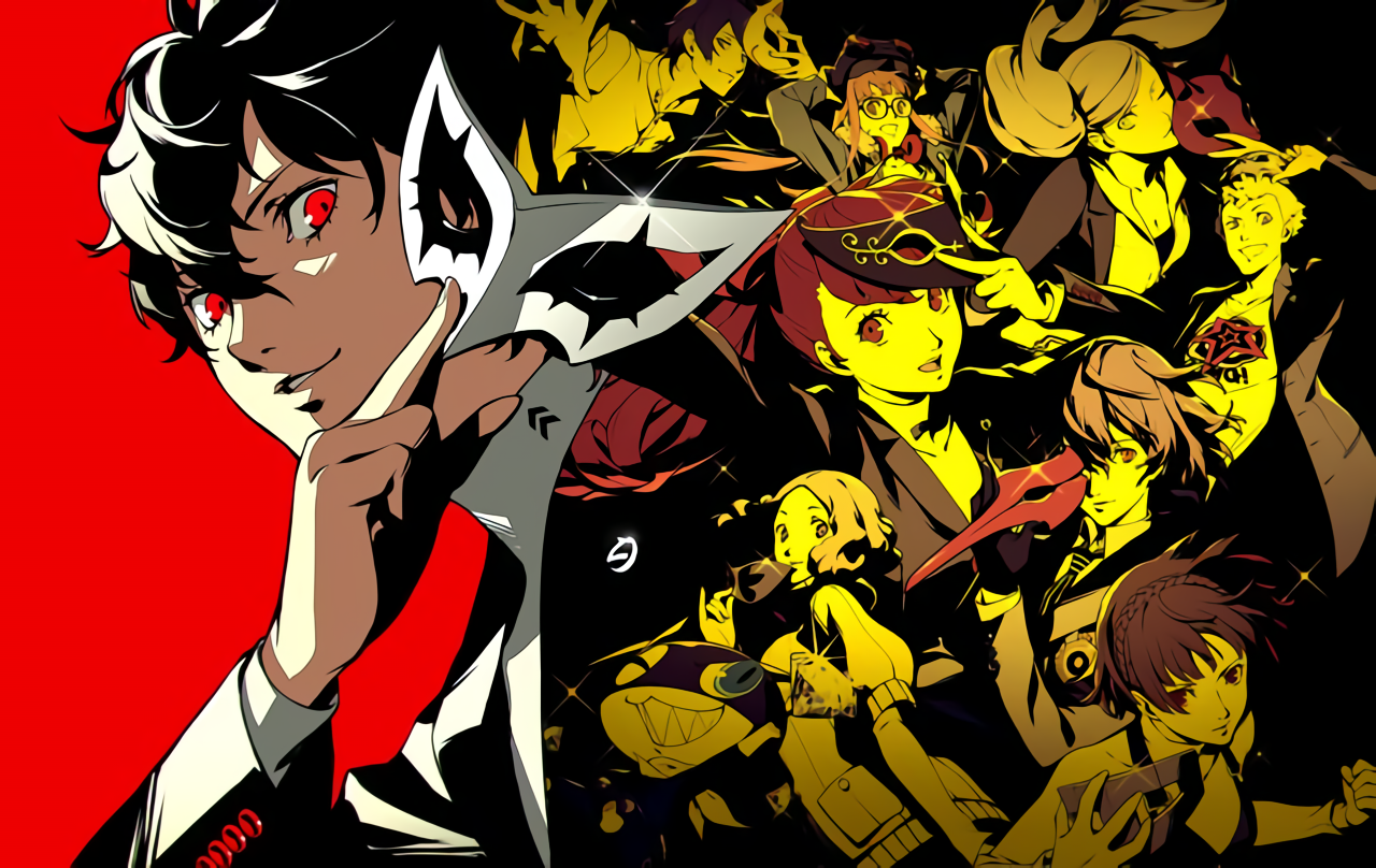Here S A Higher Resolution Of The New Official Art Persona5