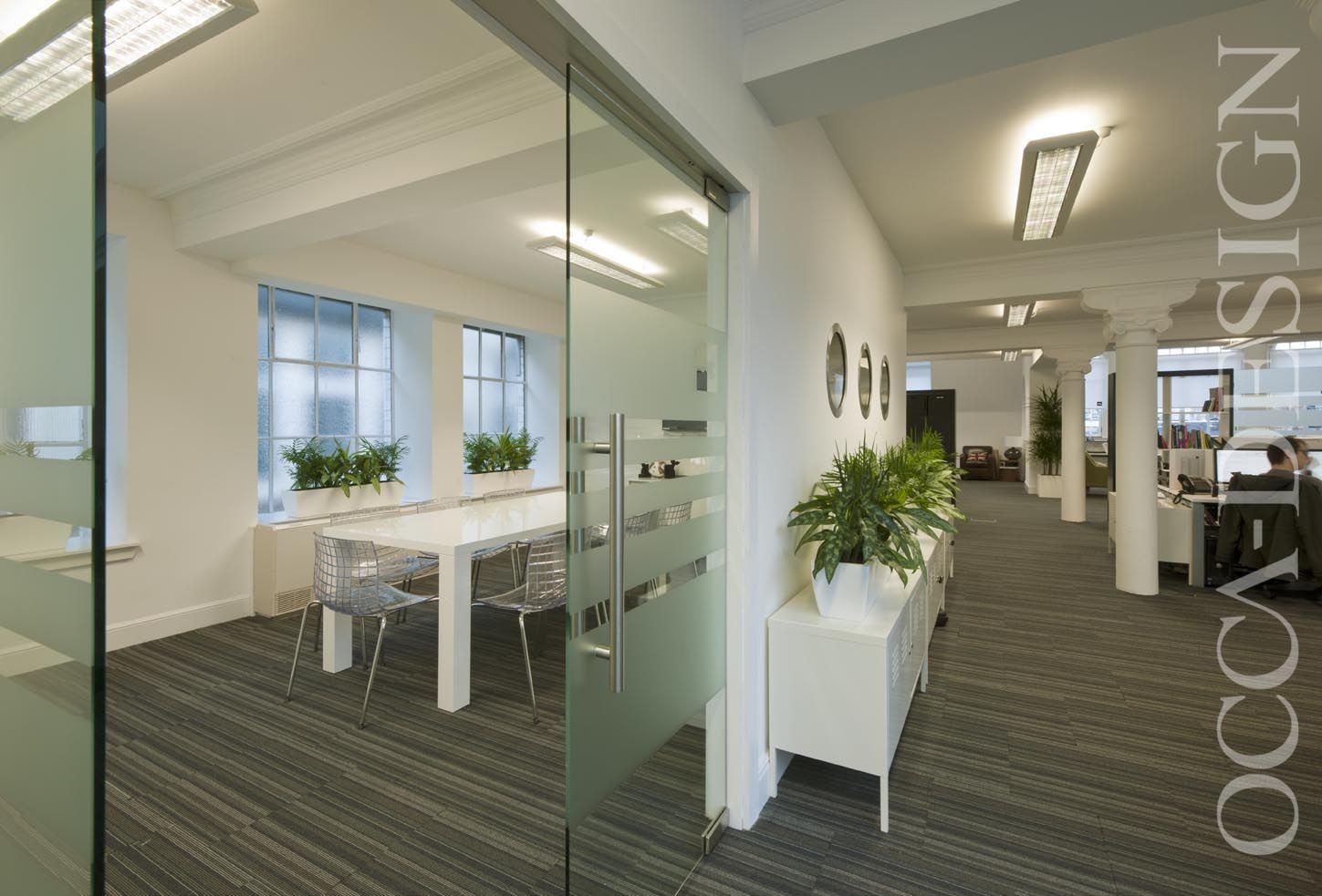 Digital Marketing Offices Office Interior Design Glasgow Listed Building Contemporary