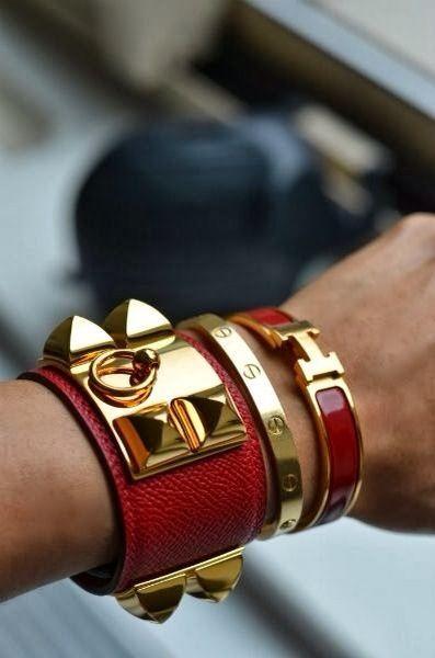 cb8a27a32d18 Combinar pulseras y brazaletes de todos tipos y tamaños
