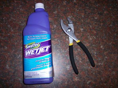 Refill A Swiffer Wetjet Bottle Diy