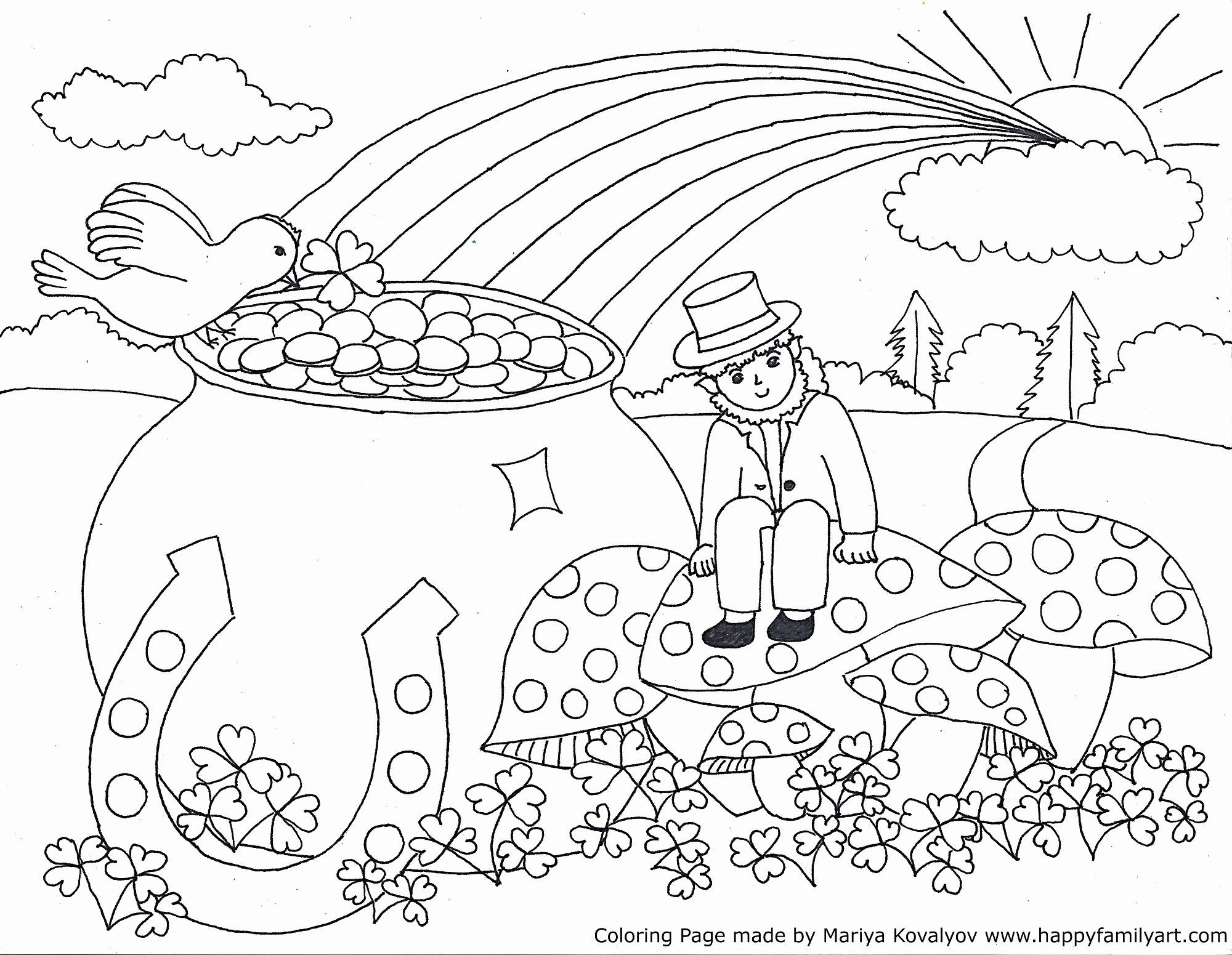 Coloring Pages For St Patricks Day In 2020 With Images St