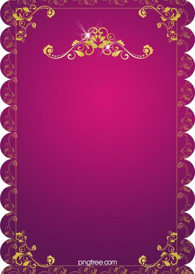 H5 Wedding Invitation Vector Background Material Wedding