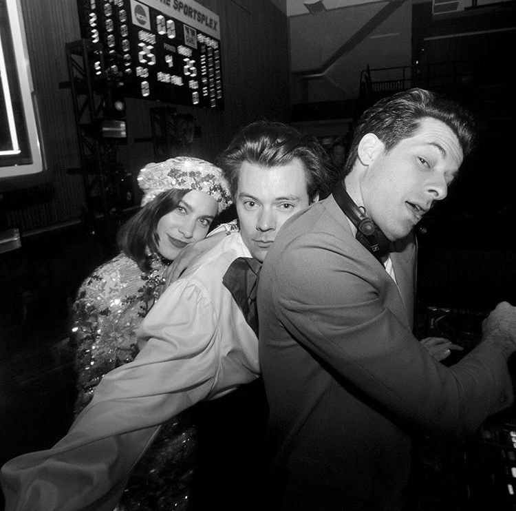 Mark Ronson: NEW// Harry with Alexa Chung and Mark Ronson at The Gucci After Party Met Gala May 6, 2019