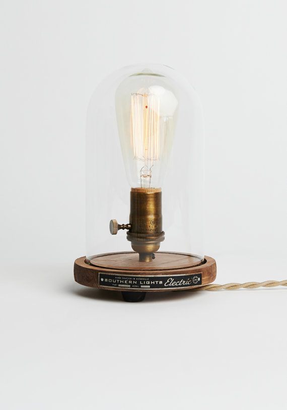 bell jar lighting fixtures. Featured In Southern Living \u0026 Garden And Gun Magazine. Add Some Industrial Charm To Any Home, Office Or Retail Space With The Bell Jar Table Lighting Fixtures N