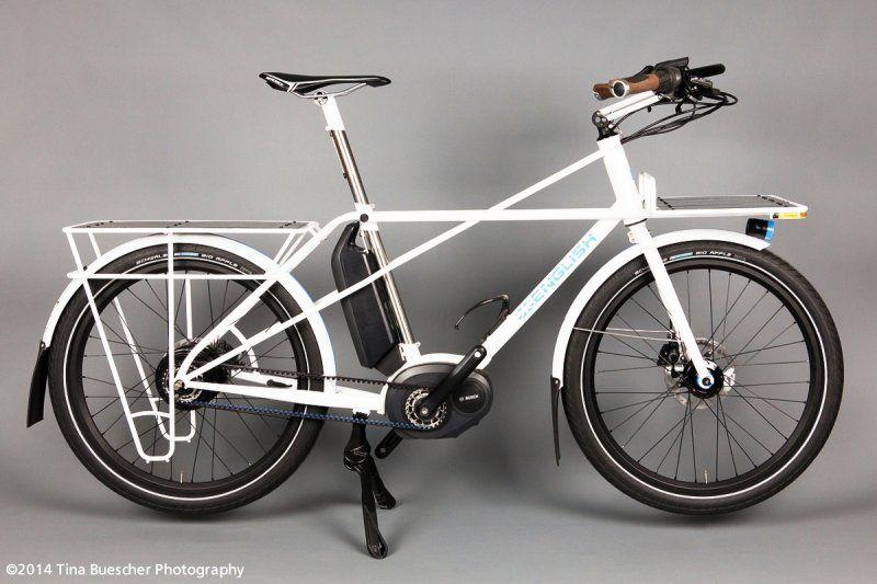 English Cycles Cargo Bike With Bosch E Bike System Nuvinci N360 Rear Hub And Gates Carbon Drive Belt Cargo Bike Bicycle Electric Bike