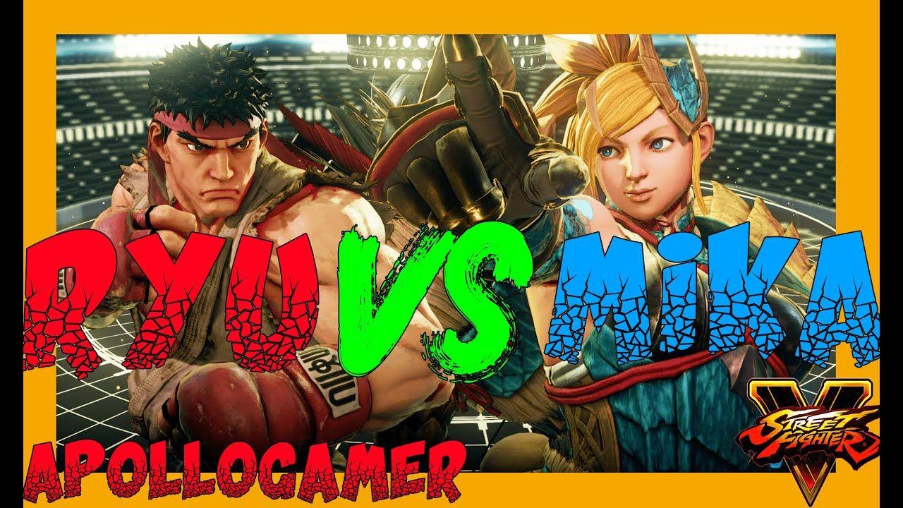Street Fighter 5 Ruy Vs R Mika Gameplay 4k 08 06 2020 Street Fighter 5 Street Fighter Cinematic Trailer