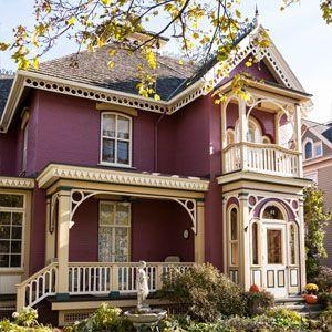 Houses Colors editors' picks: our favorite colorful houses | railings, exterior