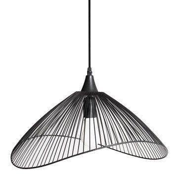 Suspension Design Kastelli Métal Noir 1 X 40 W Seynave En