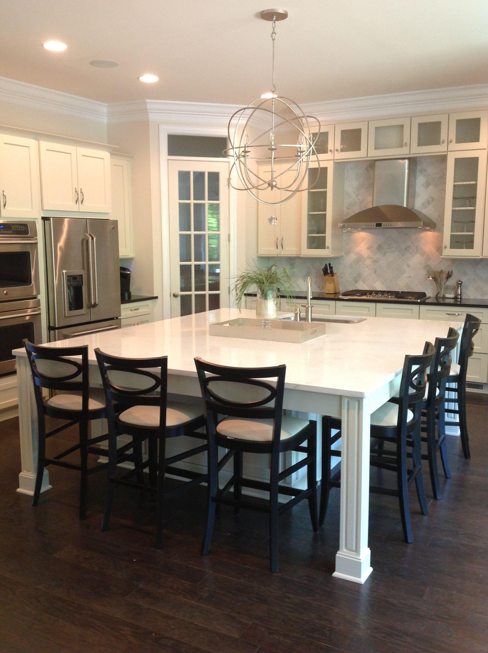 Gainesville Luxury Designer Home: ARH Castleberry Plan. BC93 (Kitchen 5)