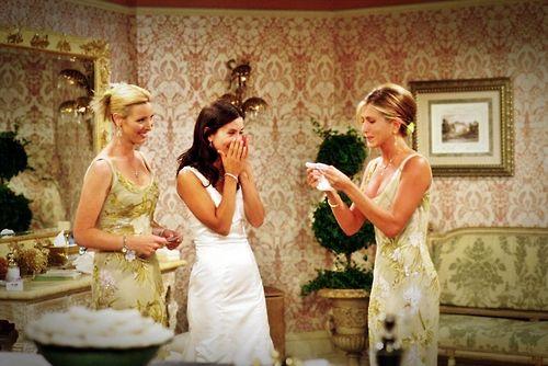 Monicas Dress Tv Weddings Wedding Dress Inspiration Monica And Chandler