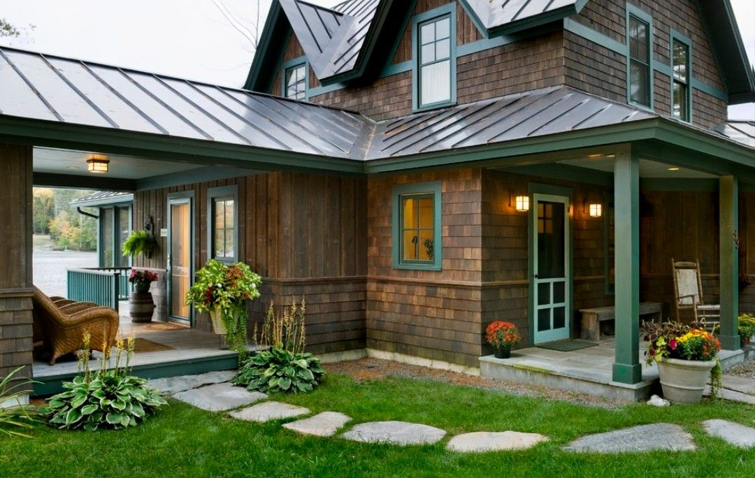 Pin by Sarah Harris on MCM House exterior, House roof