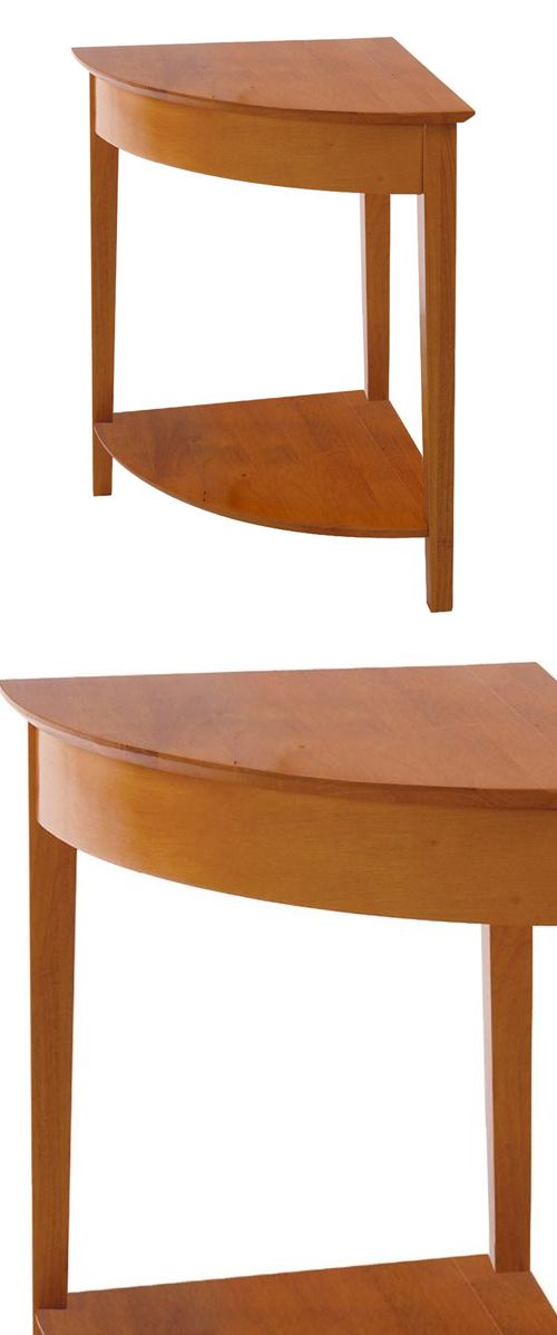 Winsome wood honey pine corner table pinterest winsome wood low this classic corner table elegantly connects other studio home office desks into an l shaped watchthetrailerfo