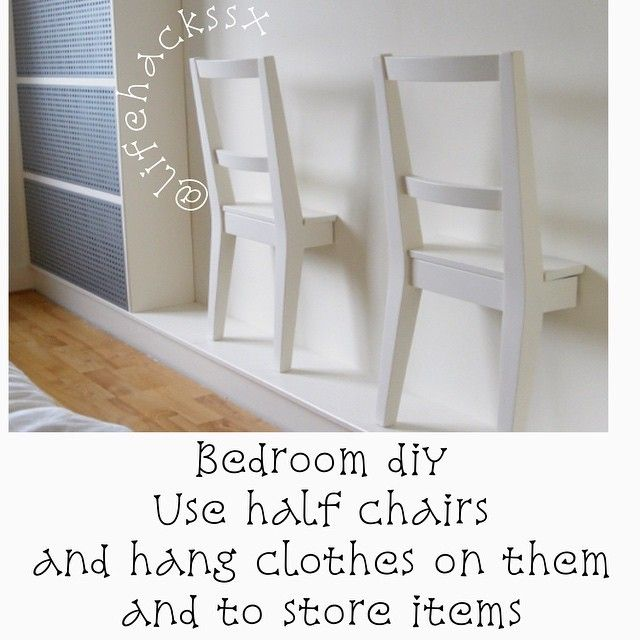 Probably a lot harder then it looks but maybe if you have an old chair with a broken leg it can be repurposed like this.