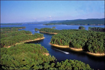 Best Lake Vacations Arkansas Boating Rivers Lakes