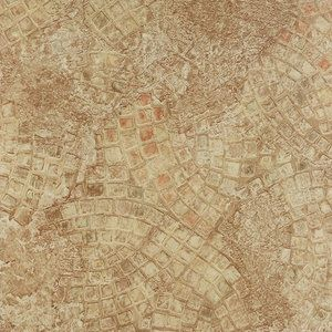 Achim Nexus Ancient Beige Mosaic 12x12 Self Adhesive Vinyl
