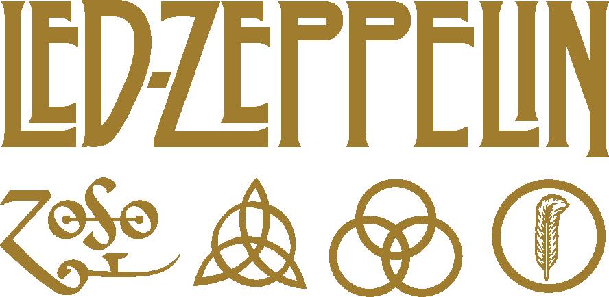 Led Zeppelin Logo Vector Cdr Led Zeppelin Logo Led Zeppelin Tattoo Led Zeppelin
