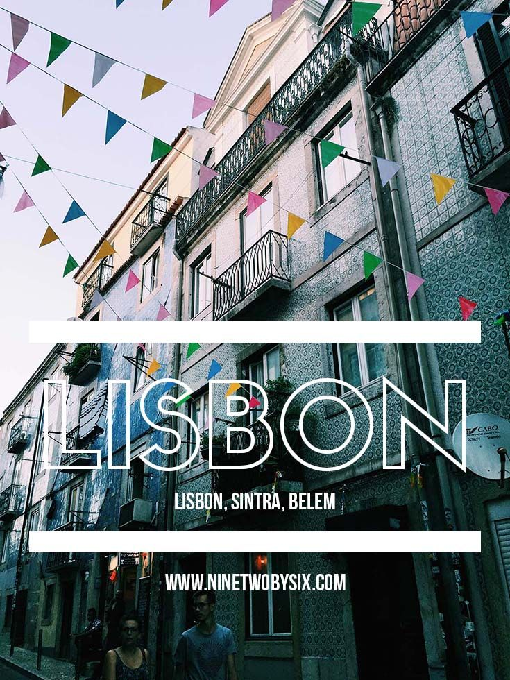 Lisbon, Portugal's beautiful streets captivated us. We visited nearby Belem and Sintra on day trips as well.