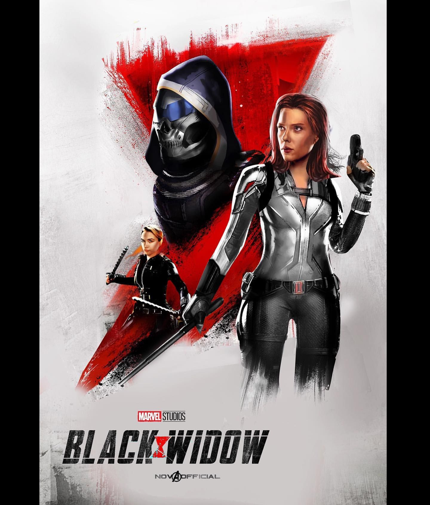 I Made A New Black Widow Art With Digital Painted Taskmaster
