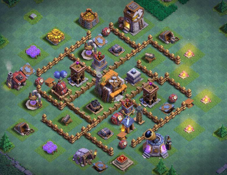 Best Th 5 Builder Base 4