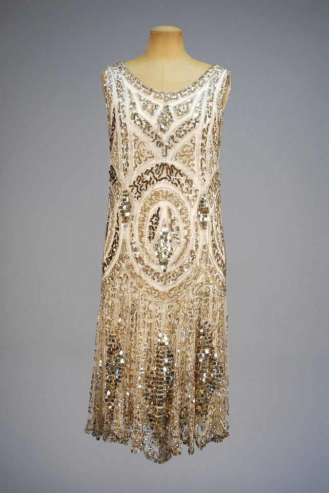 1920s BEADED and SEQUINED DRESS Whitaker Auction, Fall 2015