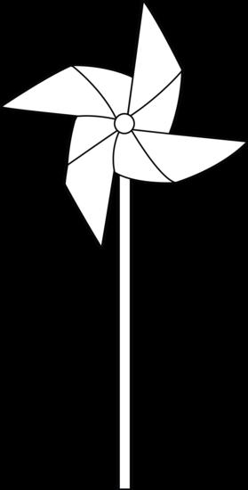 Colorable Pinwheel Free Clip Art Pinwheels Windmill Tattoo Clip Art