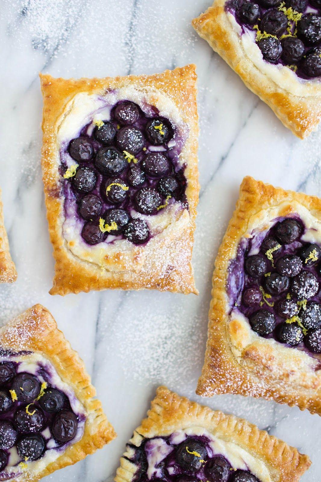 Blueberry Lemon Danish in 20 Minutes