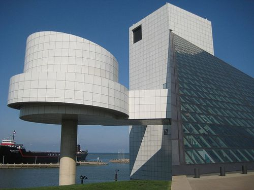 Rock & Roll Hall of Fame Innovative architecture