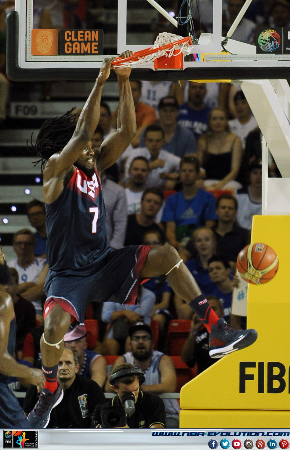 Kenneth Faried Vs Turkey