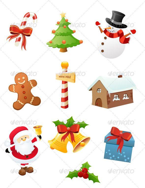 Christmas Icon Set Christmas Icons Icon Set Christmas Templates
