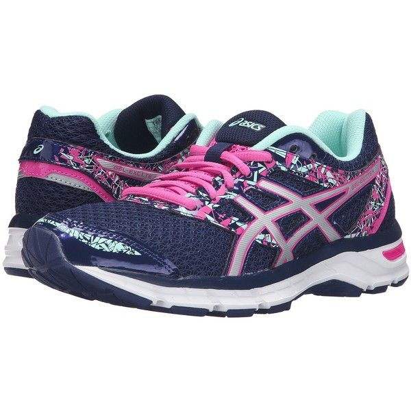 83923aef96 ASICS Gel-Excite 4 (Blue Print Silver Mint) Women s Running Shoes ...