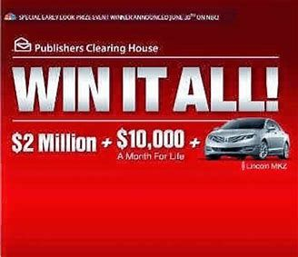 Image result for pch clearing house sweepstakes entry – Artofit