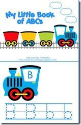 Train preschool pack free