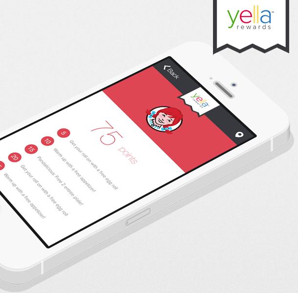 Yella Rewards is an application developed to make customer
