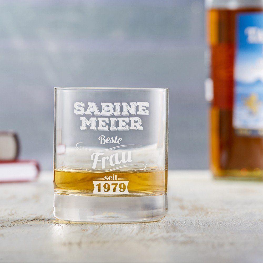 Whiskyglas mit Gravur - Vintage - Personalisiert | Frauen ...