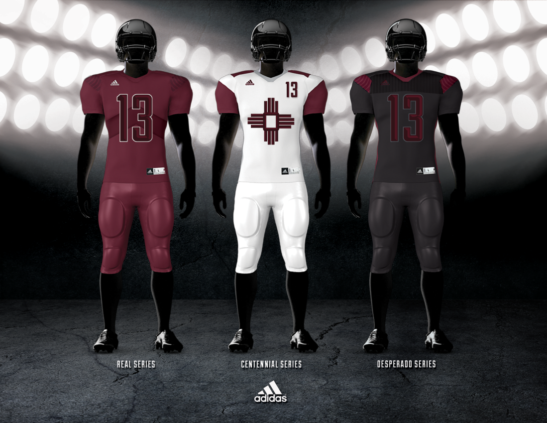New Mexico State Football Uniform Concepts Football Uniforms College Athletics Athletic