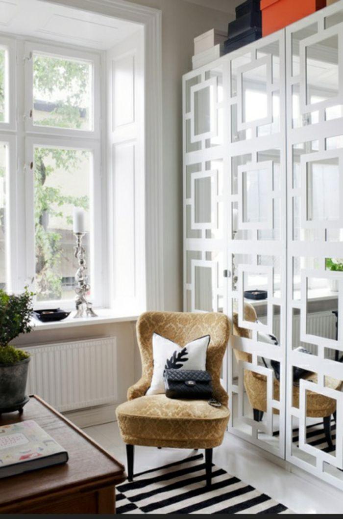 Le pochoir oriental - style pour vos murs et pour vos mains